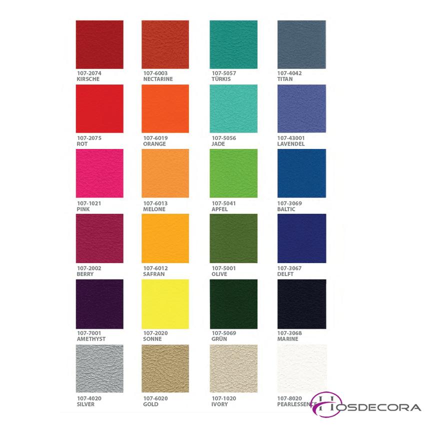 carta de colores de tapizado 2