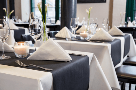caminos de mesa para restaurantes