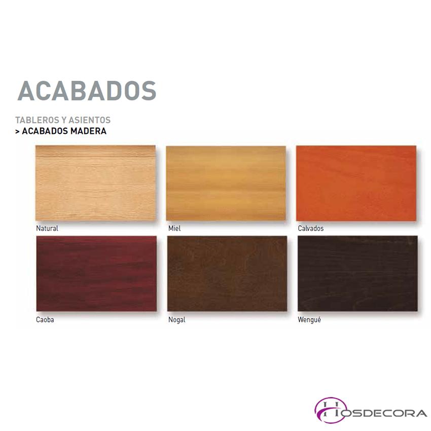 colores de madera