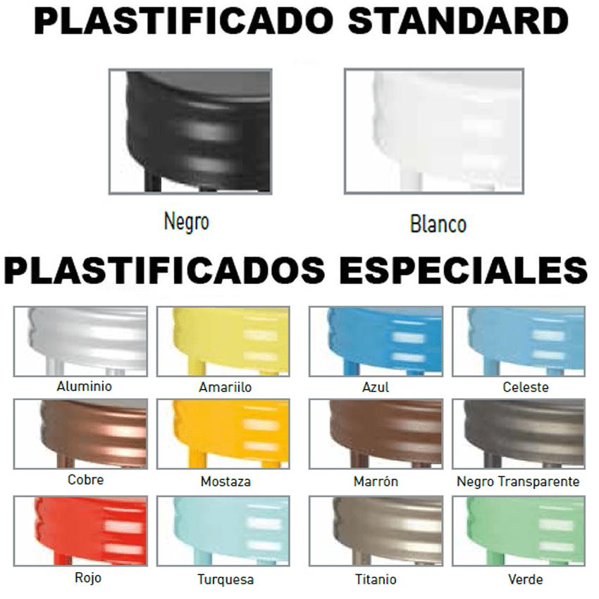 colores de muebles plastificados