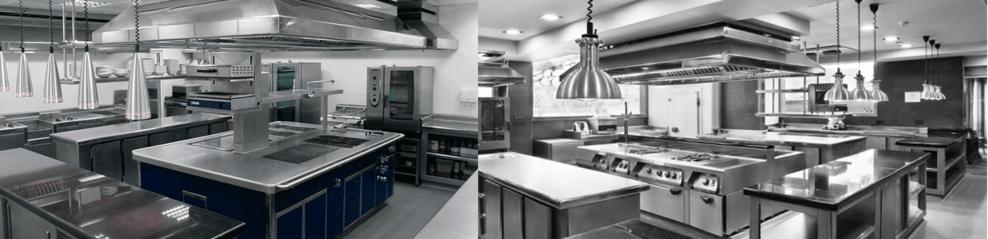 cocinas de restaurantes, maquinaria de hostelería