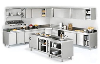 muebles para cocina profesional