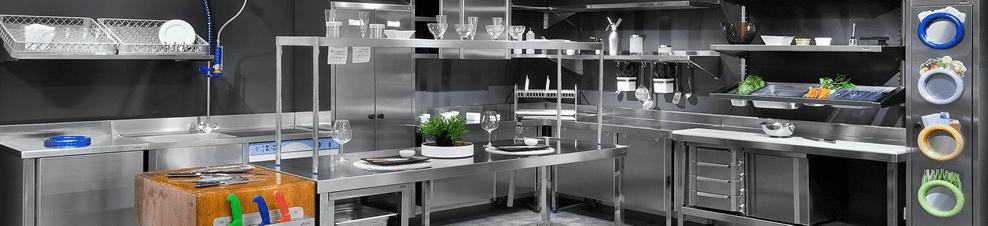 Muebles de trabajo de acero inoxidable - Hosdecora