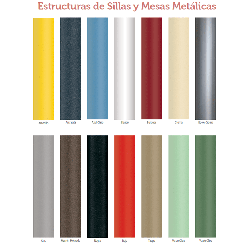 Colores del metal