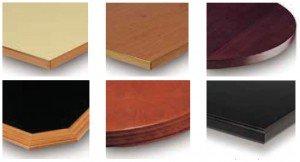 mesas de hostelería de madera